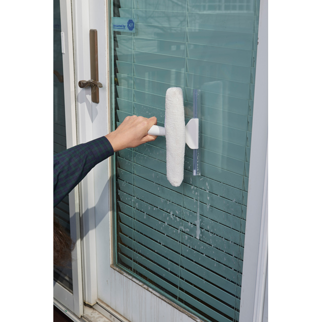 10in Window Scrubber & Squeegee - Unger Window Squeegees & Scrubbers