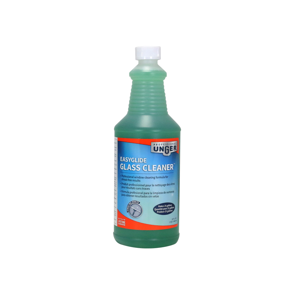 Easyglide glass cleaner - Unger bathroom cleaner