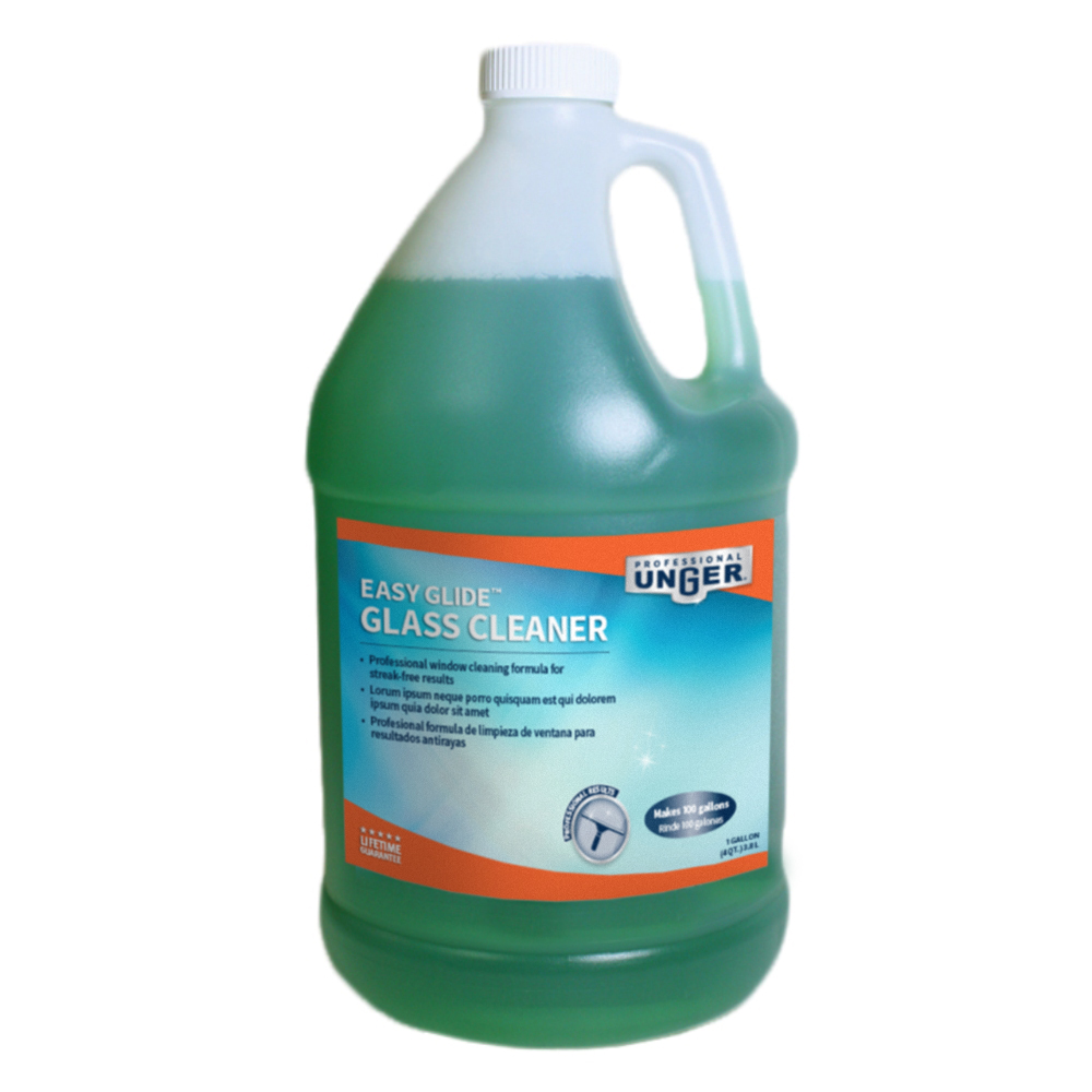 Easy Glide Glass Cleaner 1 Gallon - Unger Glass Cleaner & Scraper