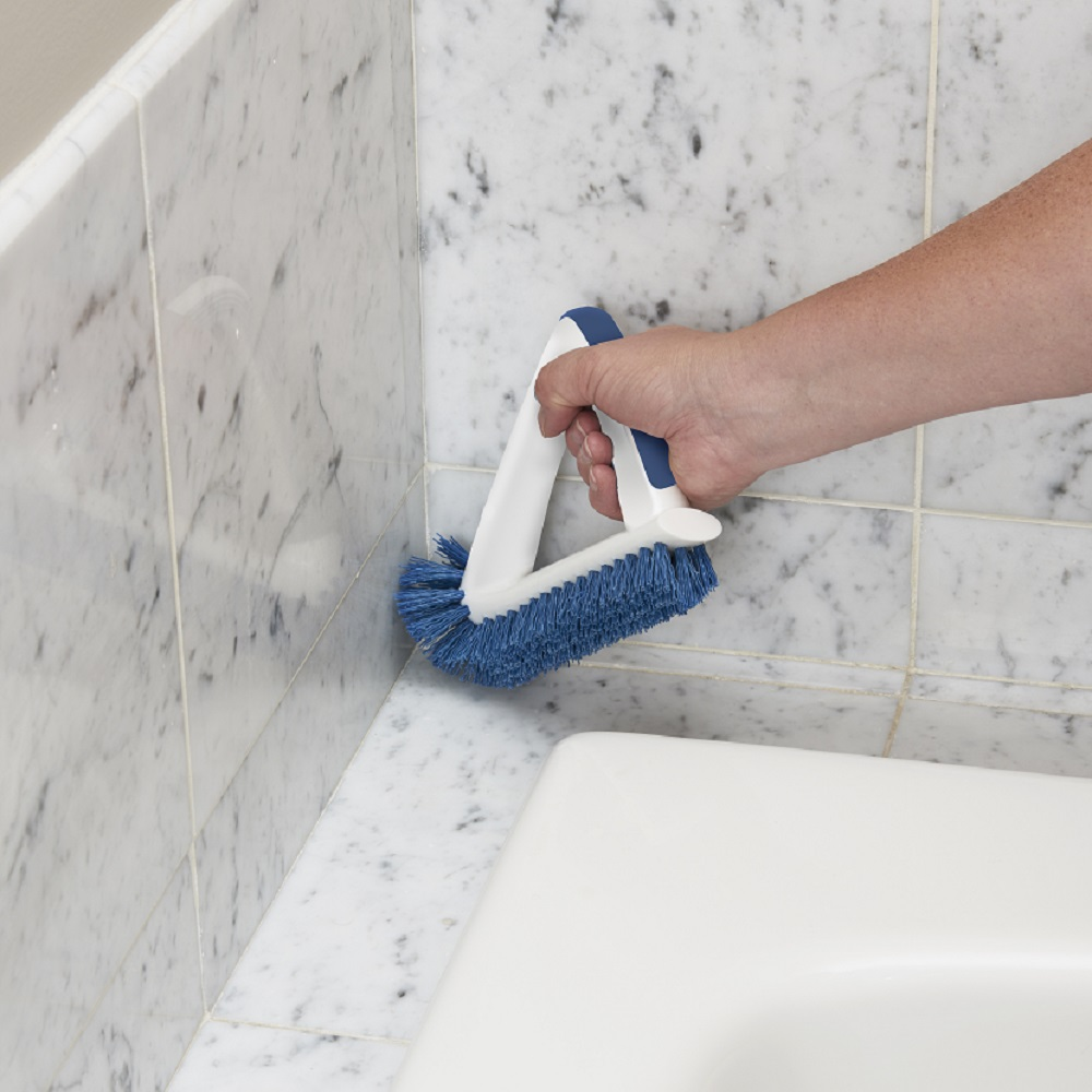 2-in-1 Grout & Corner Scrubber | Unger Cleaning