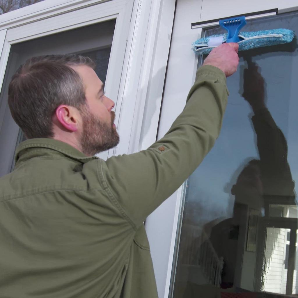 Microfiber window combi - Unger window cleaning