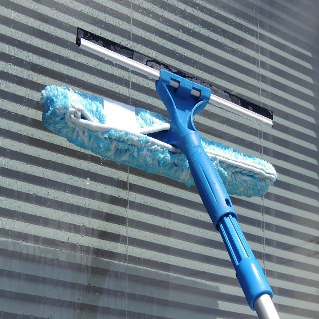 Microfiber Combi - Unger Window Squeegees & Scrubbers