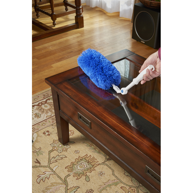 Click & Dust Microfiber Duster Cobweb & Corner Duster - Unger Dusters