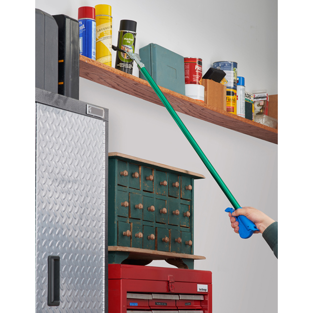 Nifty nabber grabber picking up can off shelf - Unger reaching tools
