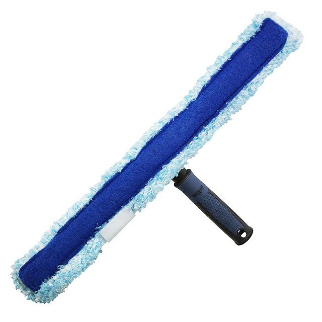 18″ Microfiber Performance Grip Scrubber - Unger Window Squeegees & Scrubbers